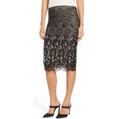 Tdc Lace Pencil Skirt