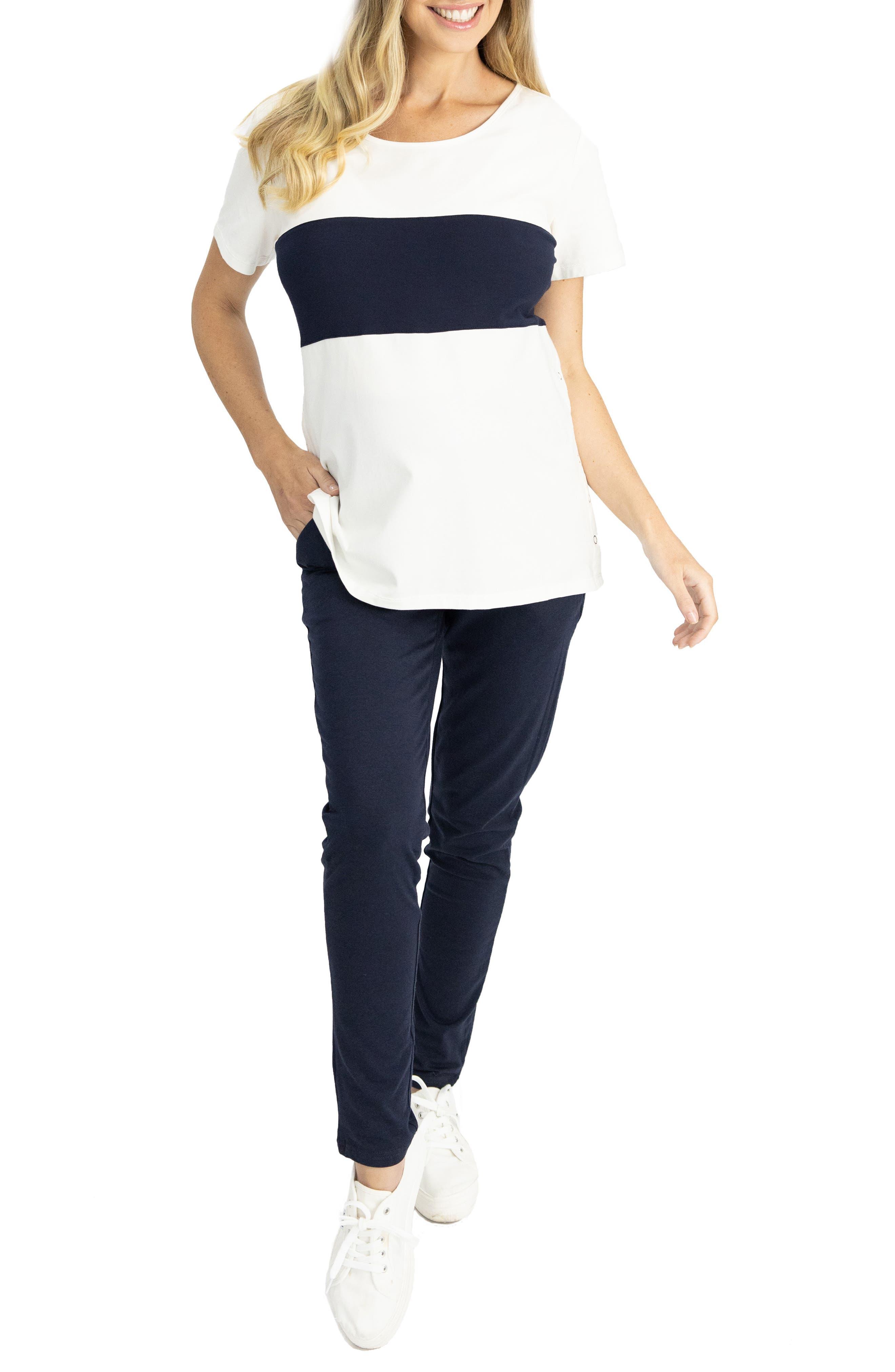 Home To Street Maternity T-Shirt & Pants Set