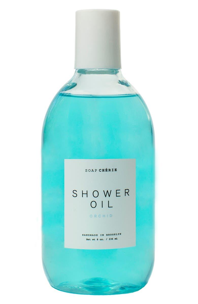 SOAP CHERIE Soap Chérie Luxurious Shower Oil, Main, color, ORCHID