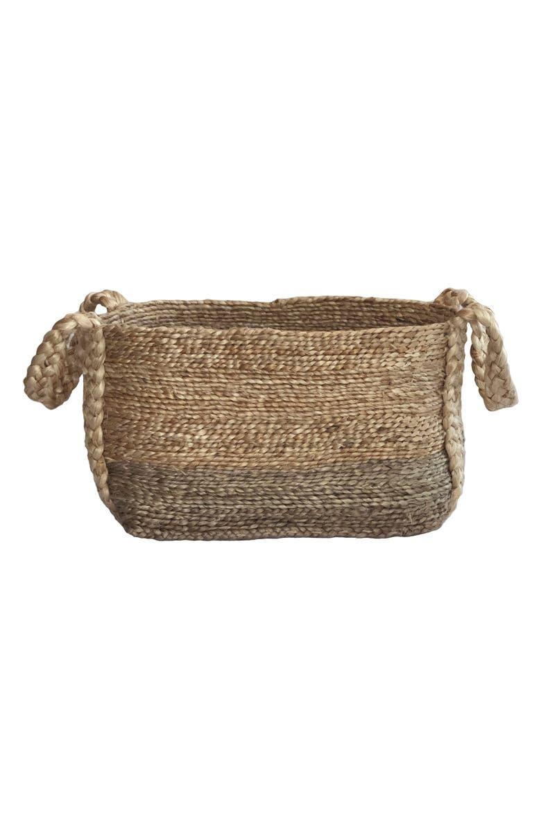 CARAVAN Hemp Storage Basket, Main, color, NATURAL
