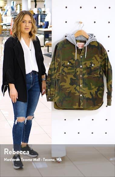 Jackson Regular Fit Hooded Camo Overshirt, sales video thumbnail