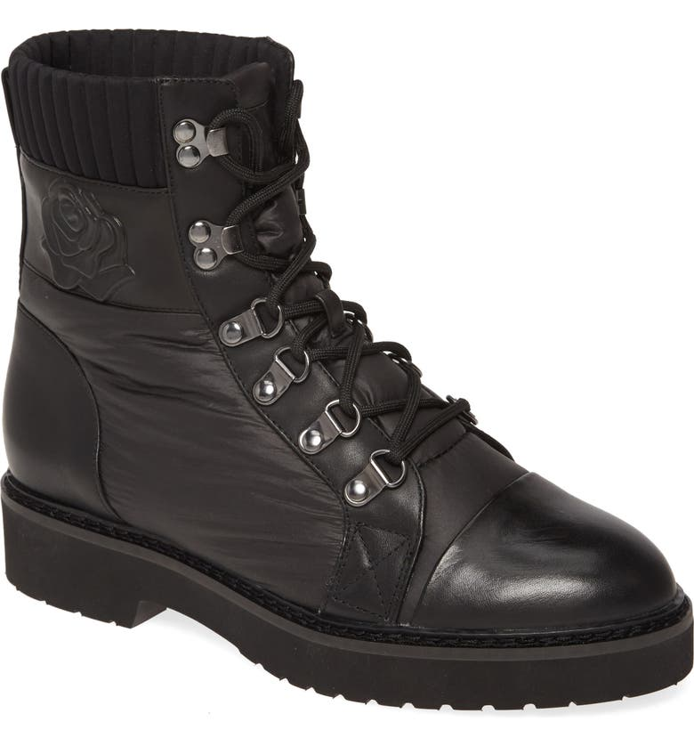 TARYN ROSE Victory Boot, Main, color, BLACK FABRIC