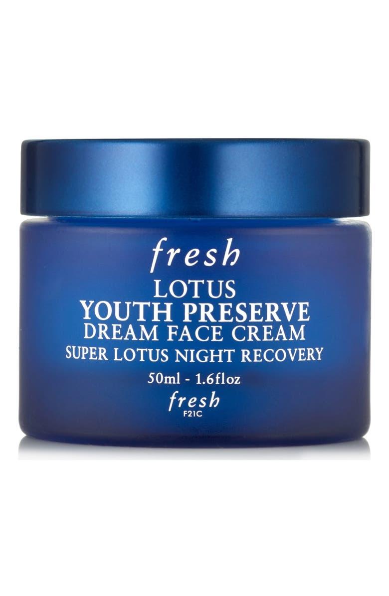 FRESH<SUP>®</SUP> Lotus Anti-Aging Night Moisturizer, Main, color, No Color
