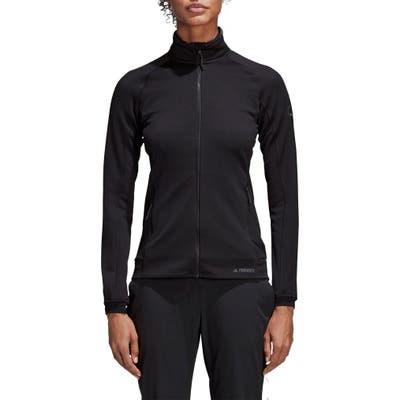 Adidas Stockhorn Fleece Jacket, Black