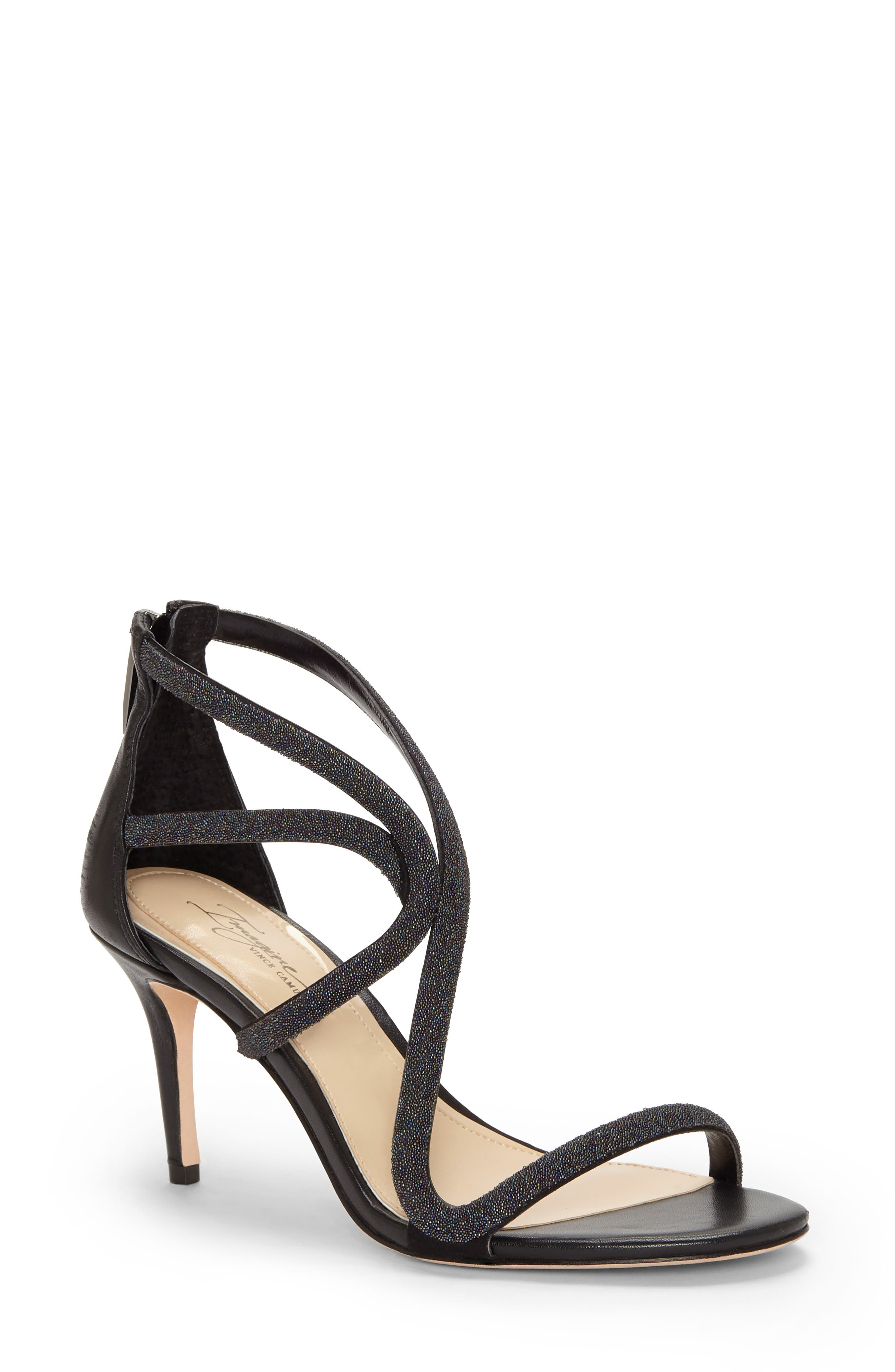Imagine By Vince Camuto Petara Strappy Sandal- Black