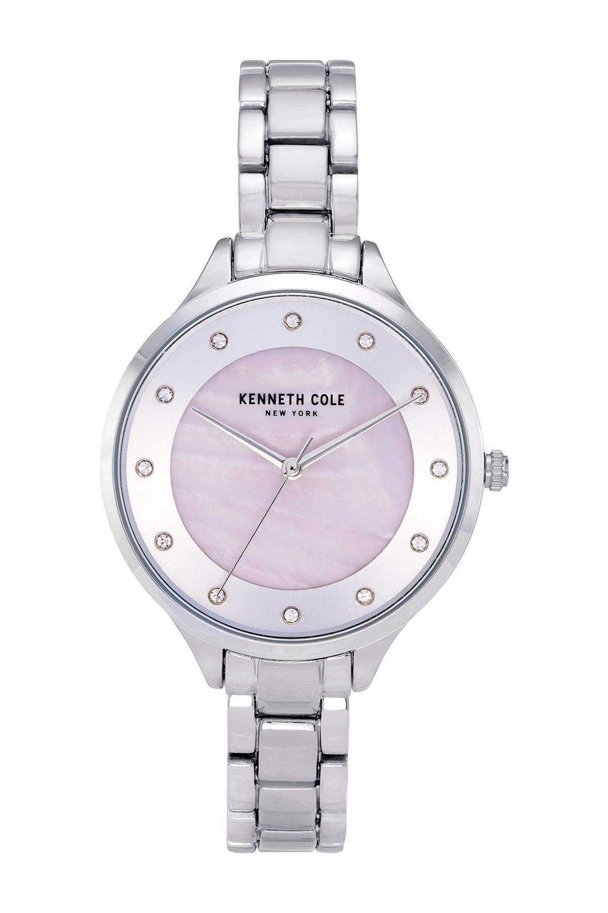 Image of Kenneth Cole New York Women's Mother of Pearl Bracelet Watch, 36mm