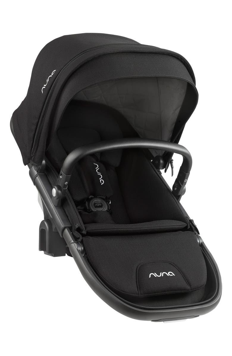 NUNA DEMI<sup>™</sup> Grow Sibling Seat Attachment for DEMI Grow Stroller, Main, color, CAVIAR