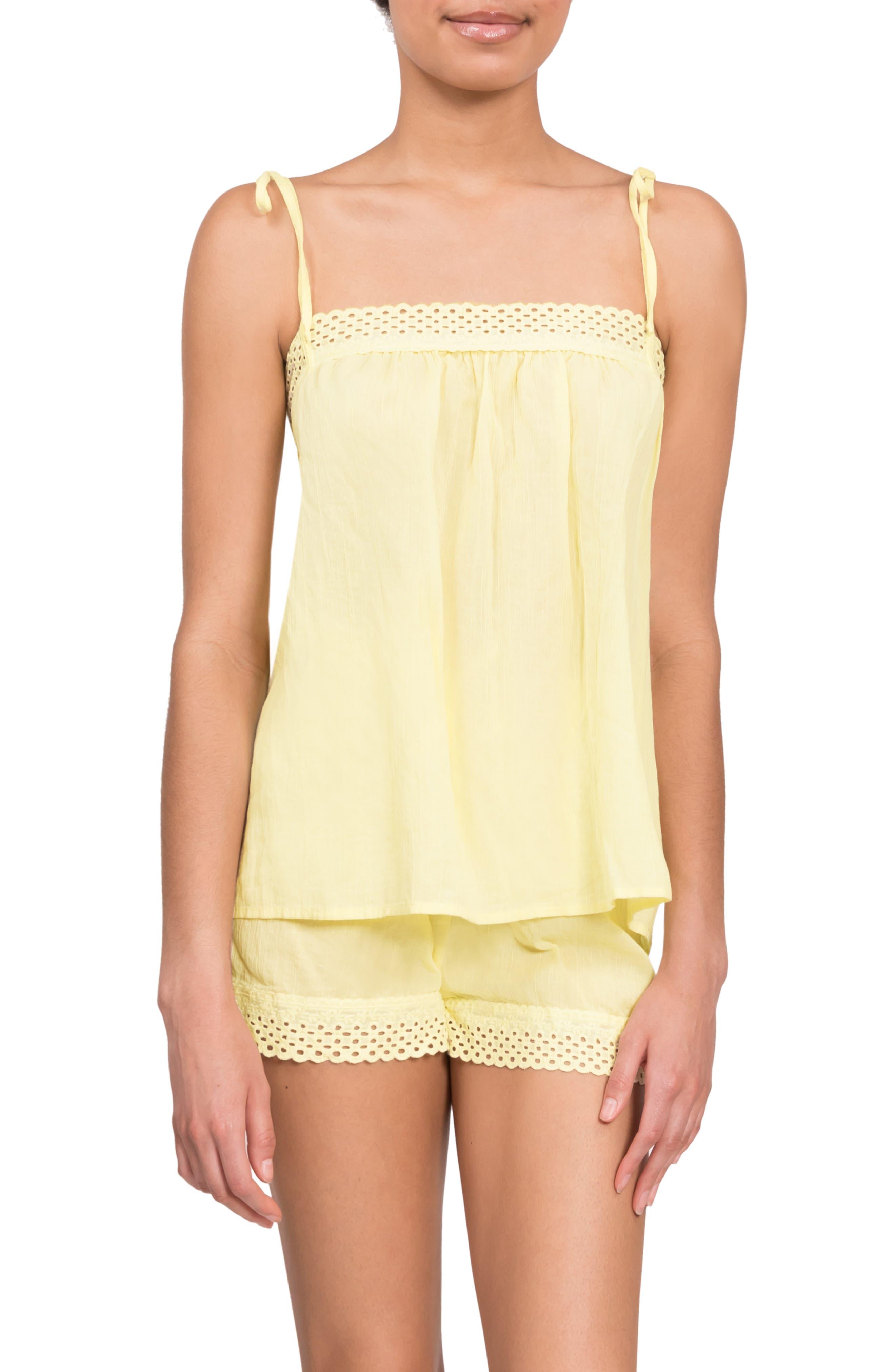 Ivy Poppy Short Pajamas