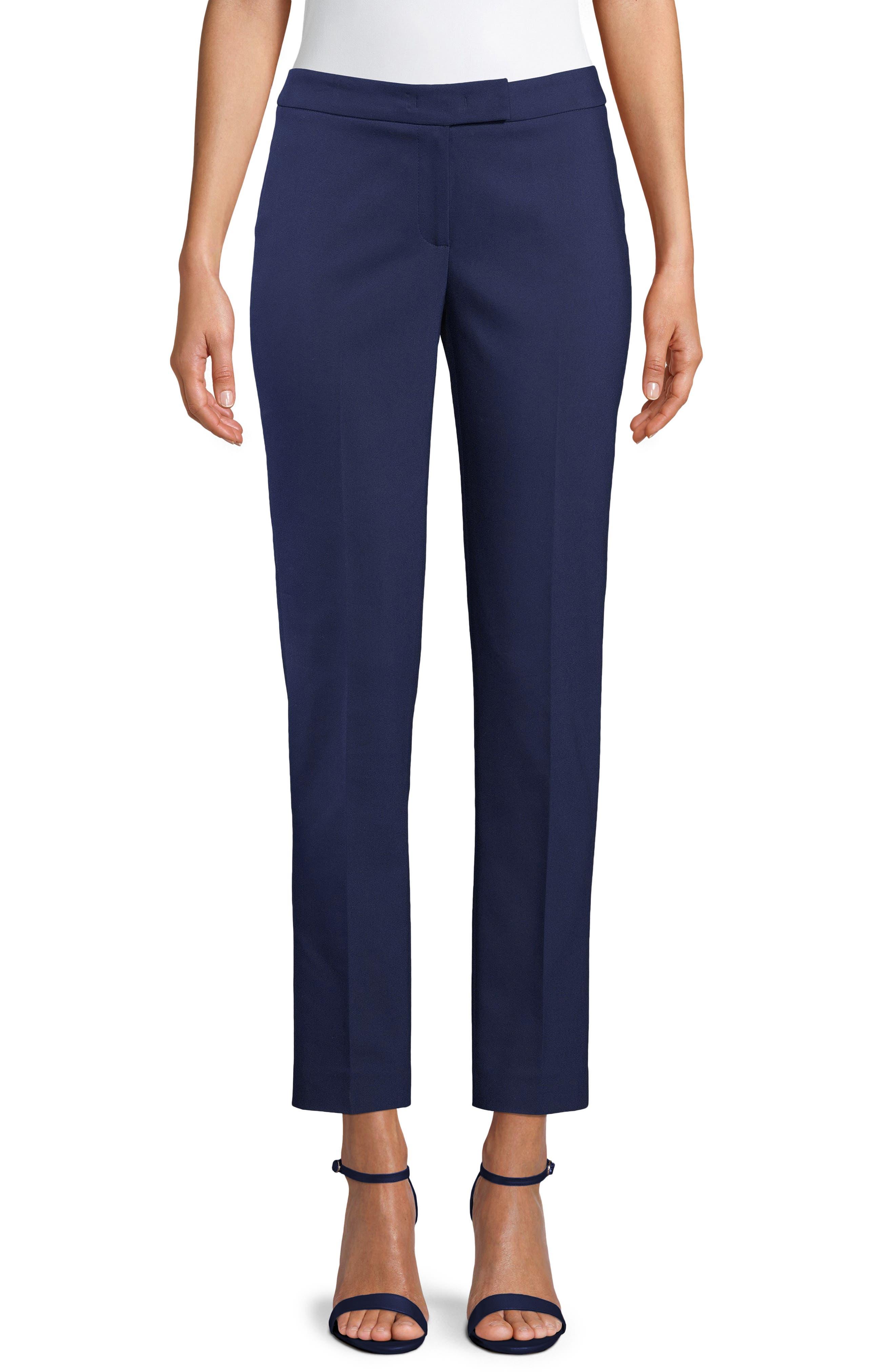 Cotton Blend Double Weave Pant