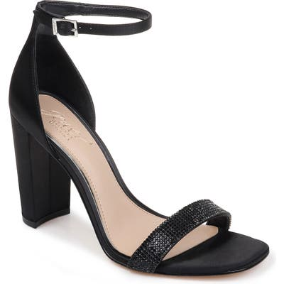 Jewel Badgley Mischka Keshia Iii Sandal, Black