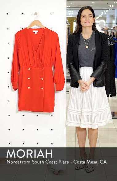Double Breasted Blazer Minidress, sales video thumbnail