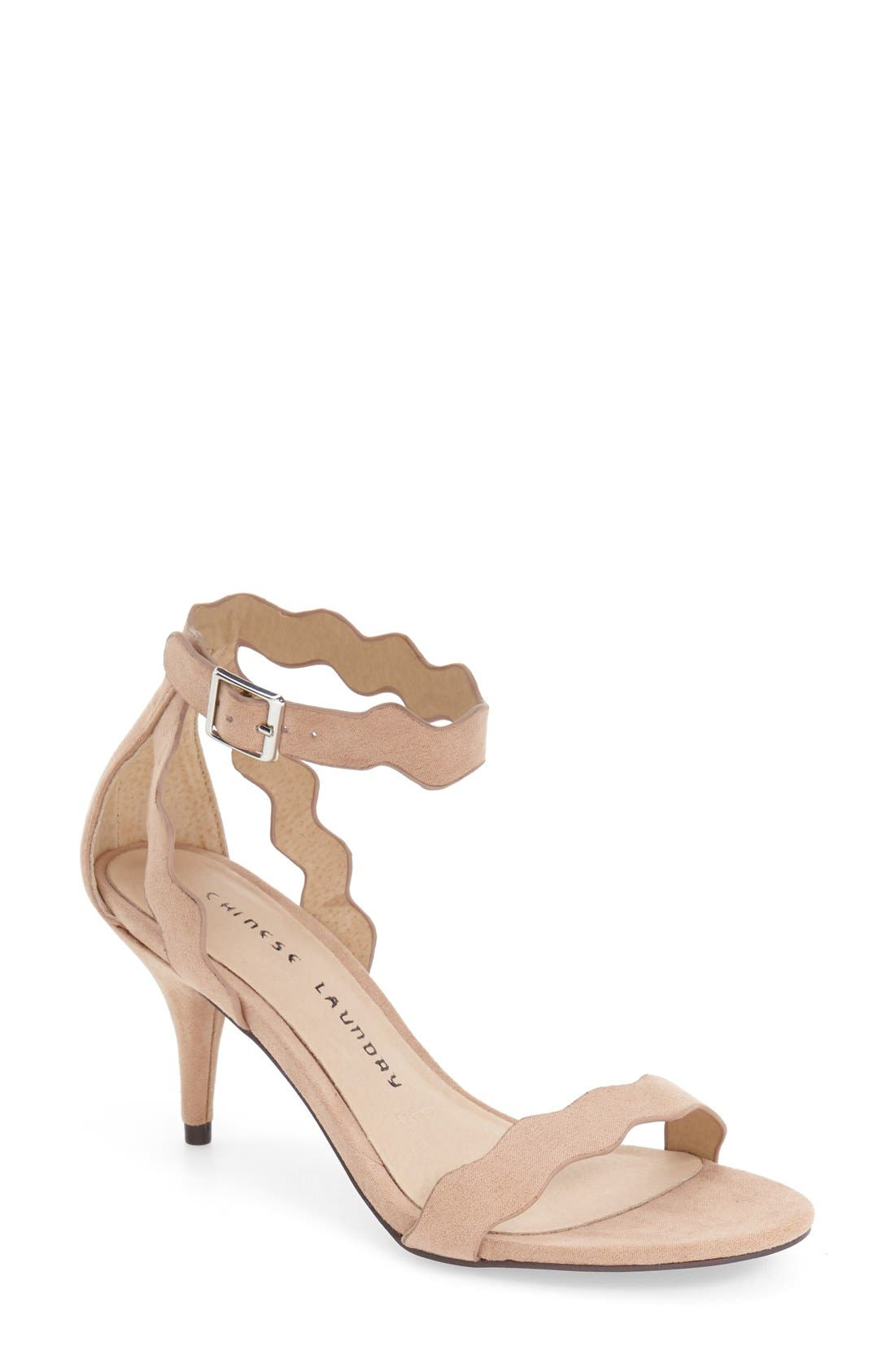 ,                             'Rubie' Scalloped Ankle Strap Sandal,                             Main thumbnail 11, color,                             255