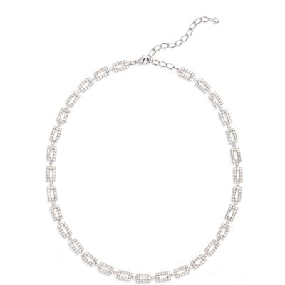 Cristabelle Crystal Link Collar Necklace