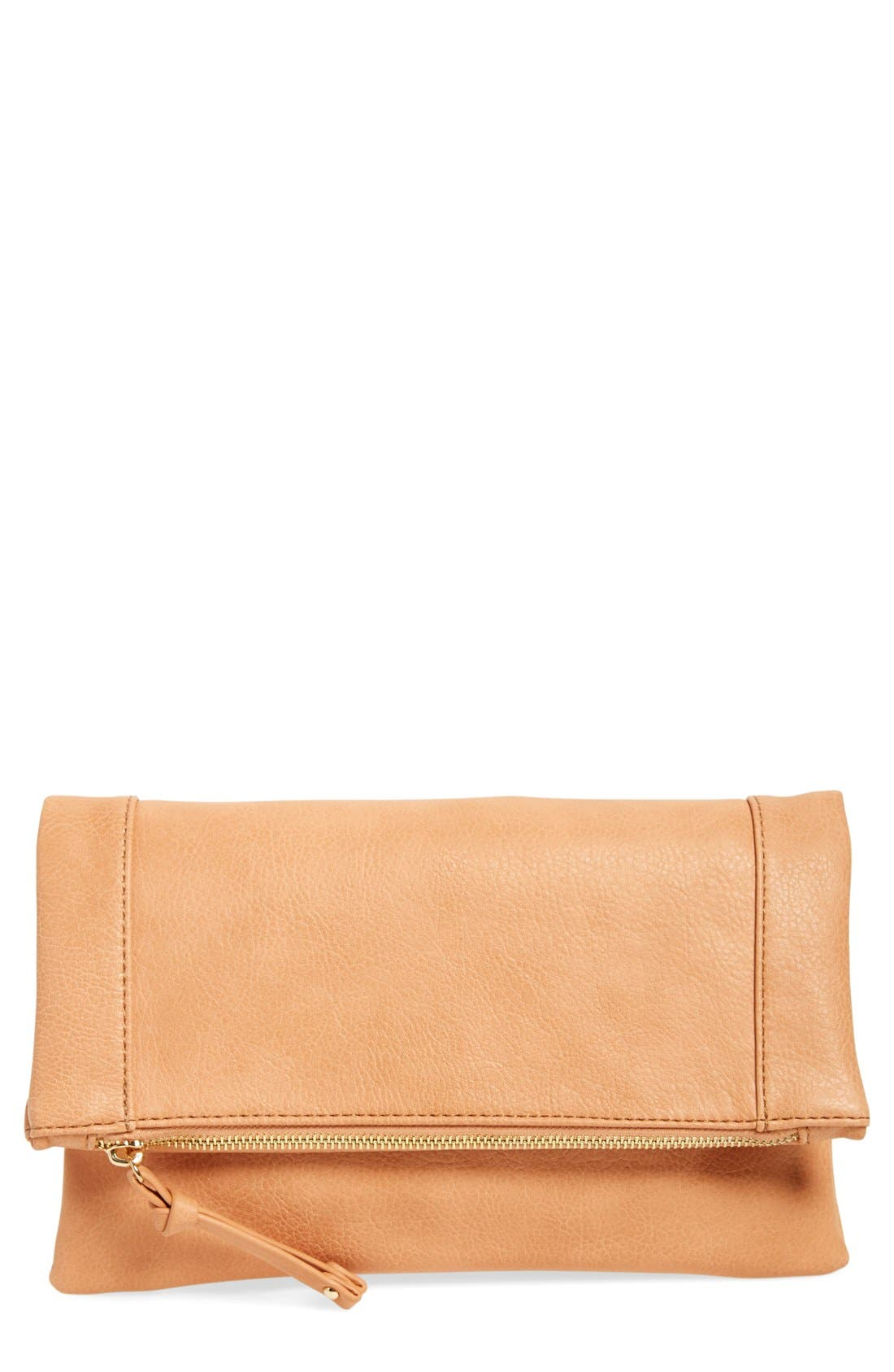 ,                             Marlena Faux Leather Foldover Clutch,                             Main thumbnail 9, color,                             950