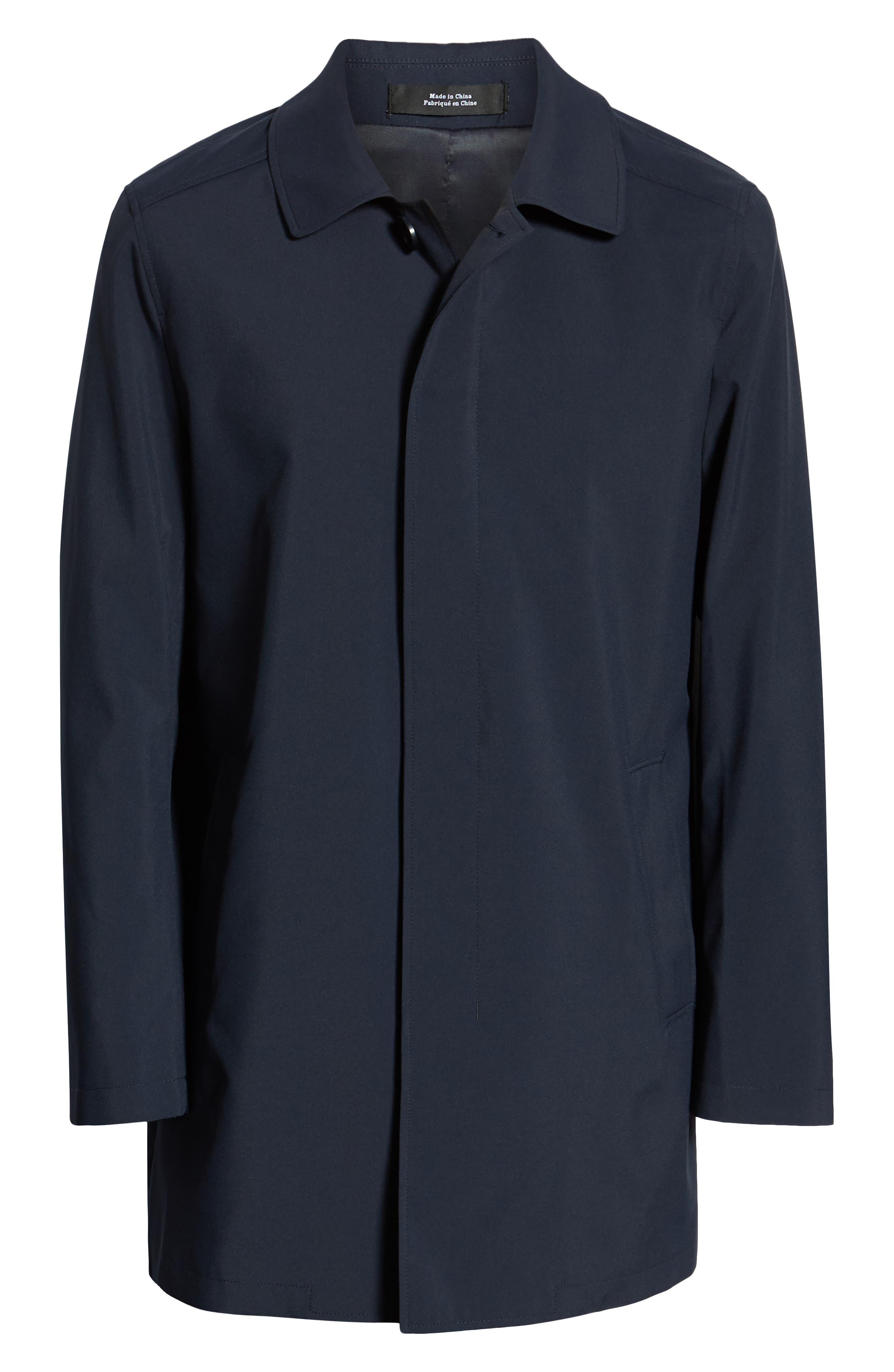 ,                             Lightweight Overcoat,                             Alternate thumbnail 7, color,                             BLUE OASIS
