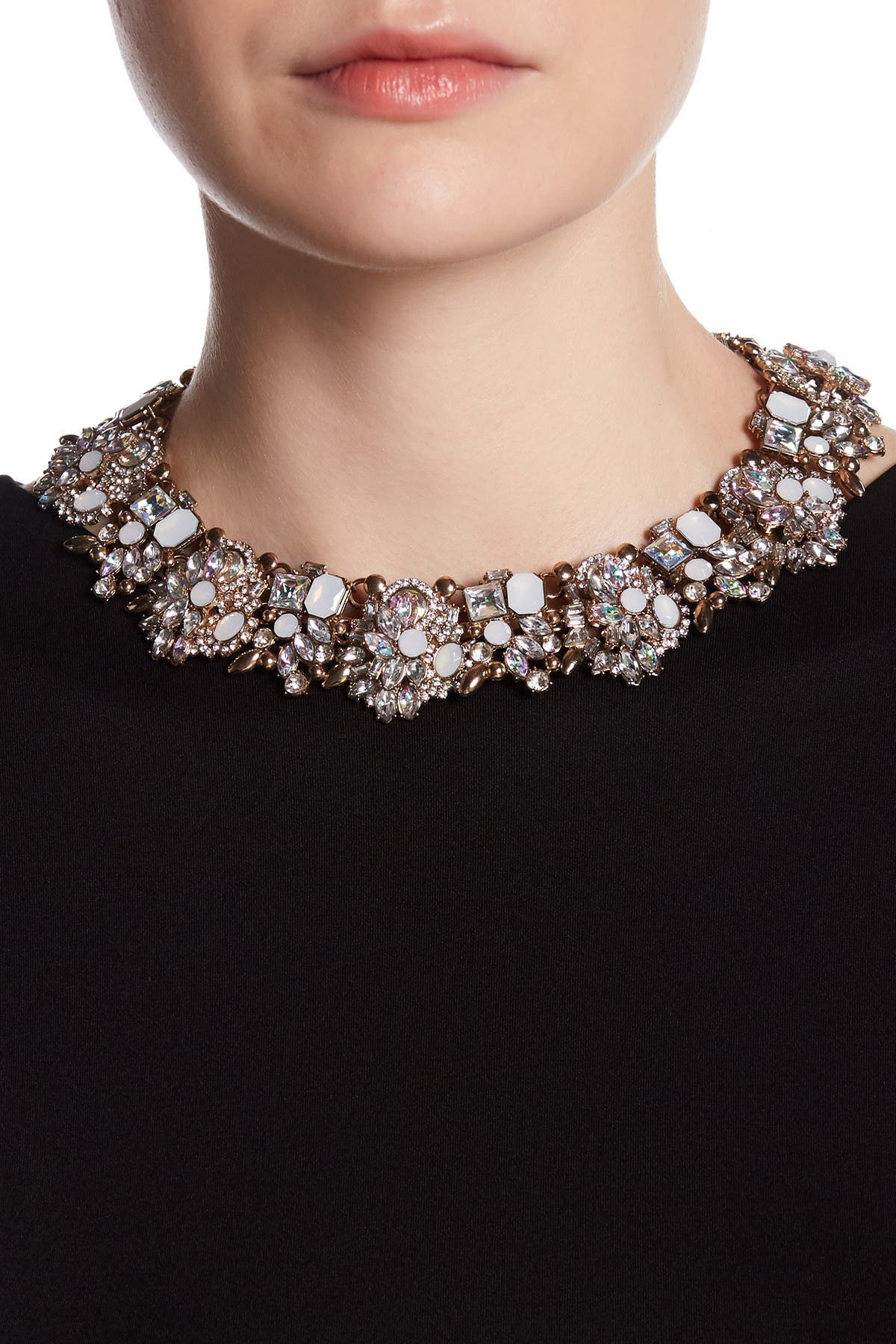 Image of Eye Candy Los Angeles Opal Ivy Collar Necklace