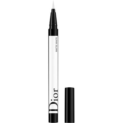Dior Diorshow On Stage Eyeliner - 001 Matte White