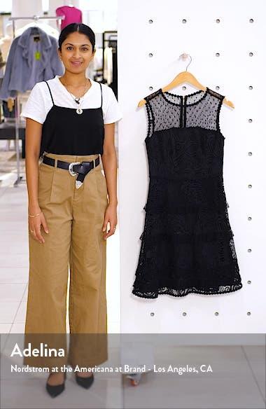 Kasee Sleeveless Lace Minidress, sales video thumbnail