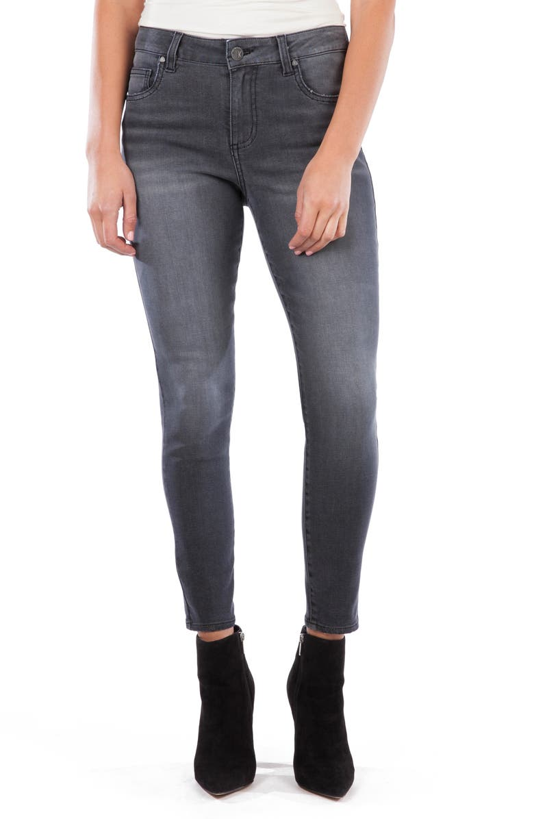 KUT FROM THE KLOTH Donna High Waist Ankle Skinny Jeans, Main, color, EVENTFUL