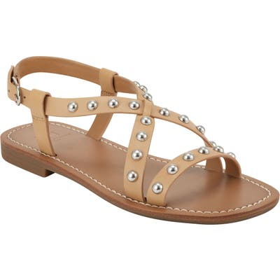 Marc Fisher Ltd Fianna Sandal- Beige