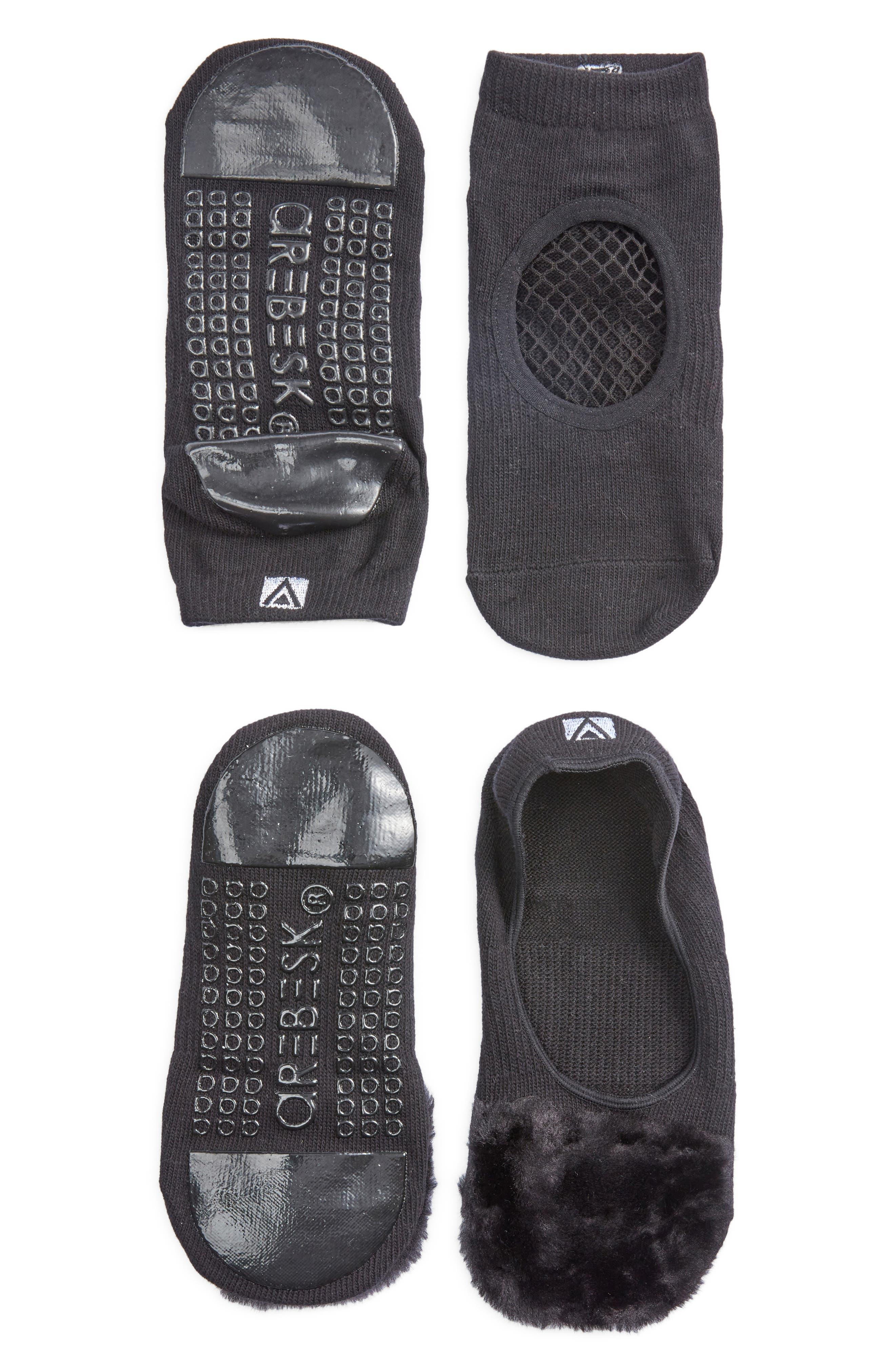 Phish Net Assorted 2-Pack Closed Toe Ankle Socks