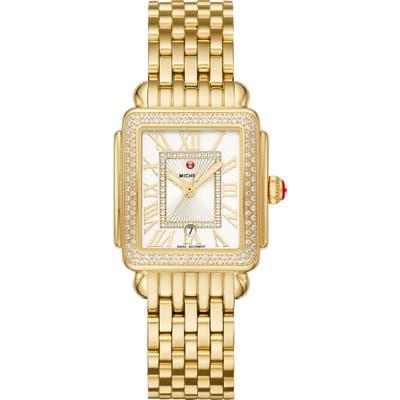 Michele Deco Diamond Watch Head & Bracelet, 2m