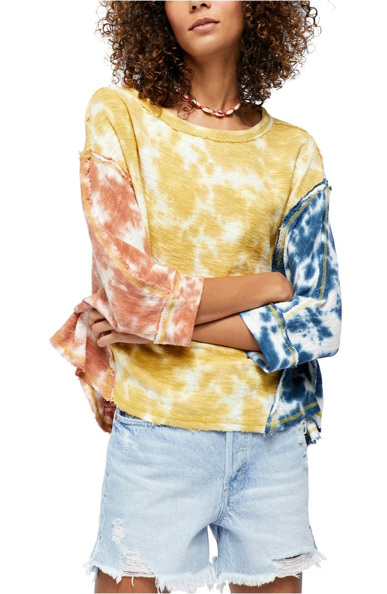 FREE PEOPLE Chasing the Sun Top, Main, color, EARTH COMBO