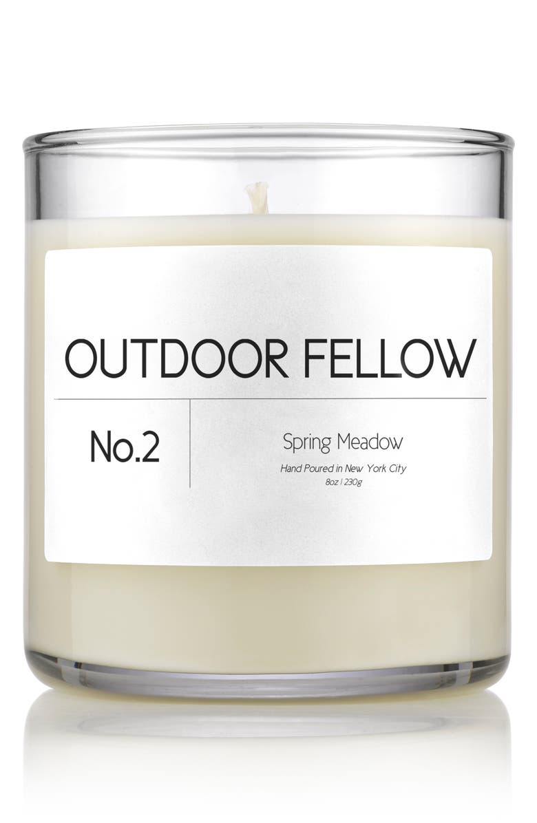 OUTDOOR FELLOW No.2 Spring Meadow Scented Candle, Main, color, SPRING MEADOW