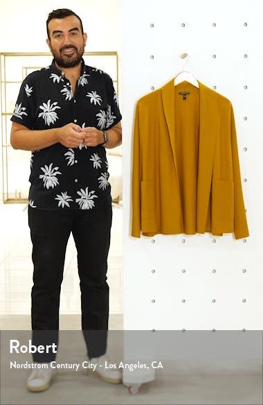 Shawl Collar Short Wool Jacket, sales video thumbnail