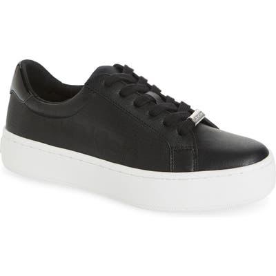 Calvin Klein Clarine Platform Sneaker, Black