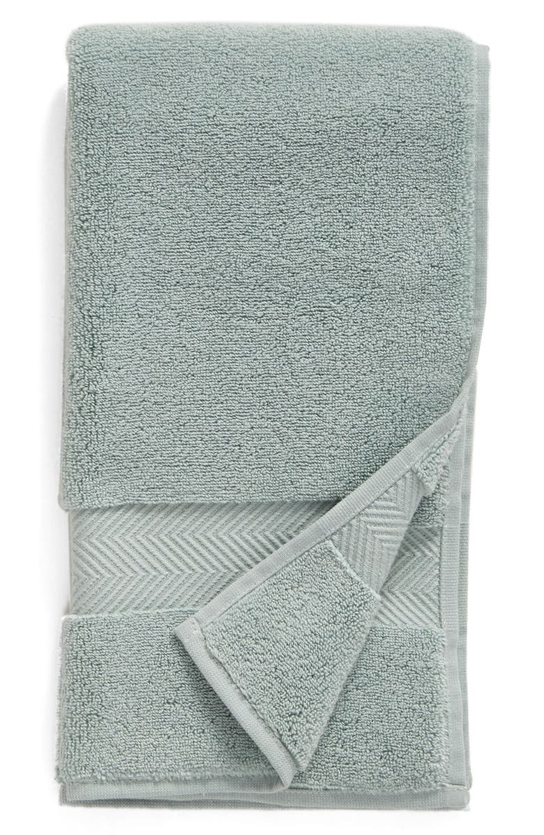 NORDSTROM Hydrocotton Hand Towel, Main, color, TEAL MIST