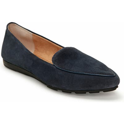 Me Too Anissa Pointy Toe Loafer, Blue