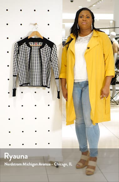 Houndstooth Cardigan, sales video thumbnail