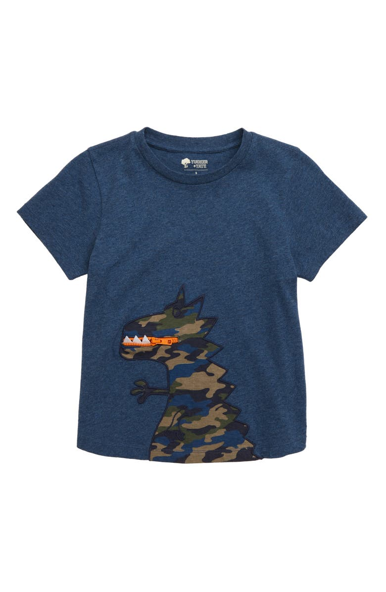 Tucker Tate Un Be Leaf Able Zip Detail T Shirt Toddler Boys Little Boys Big Boys