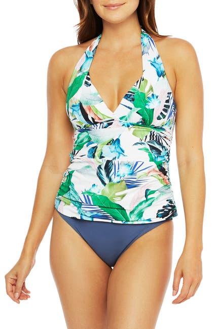 Image of La Blanca Swimwear In the Moment Tankini Top