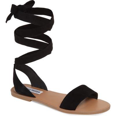 Steve Madden Reputation Lace-Up Sandal, Black