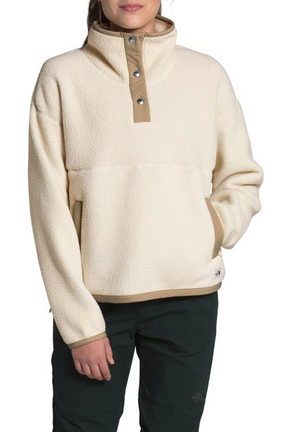 The North Face CRAGMONT FLEECE PULLOVER JACKET