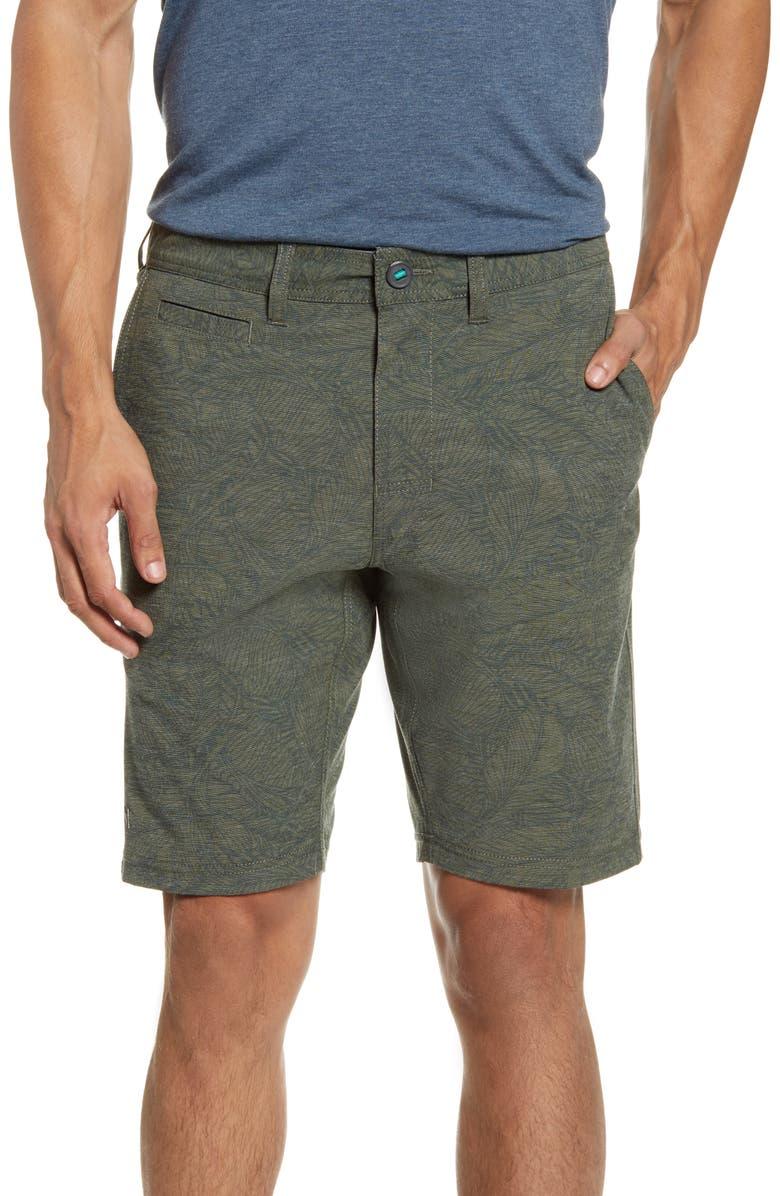 LINKSOUL Boardwalker Print Shorts, Main, color, 300