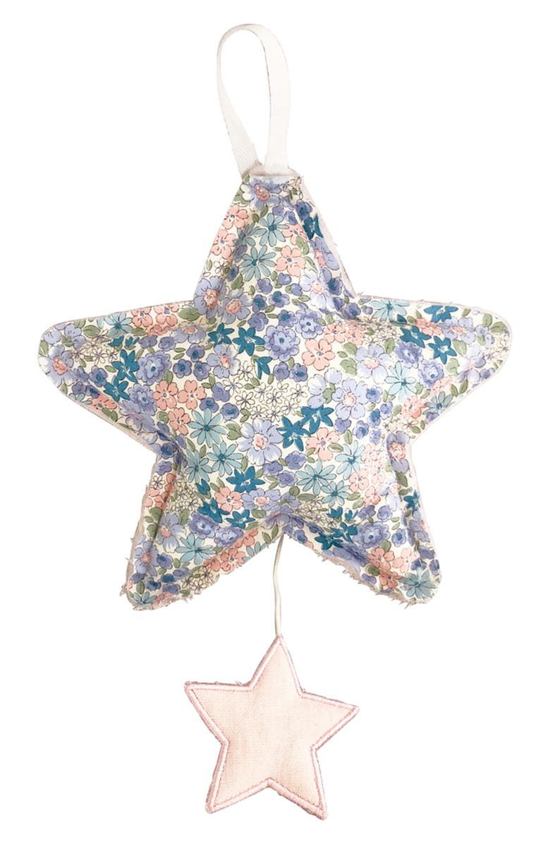 ALIMROSE Floral Let It Be Musical Star, Main, color, PINK/ LIBERTY BLUE