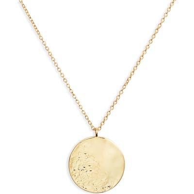 Gorjana Shaye Hammered Coin Necklace