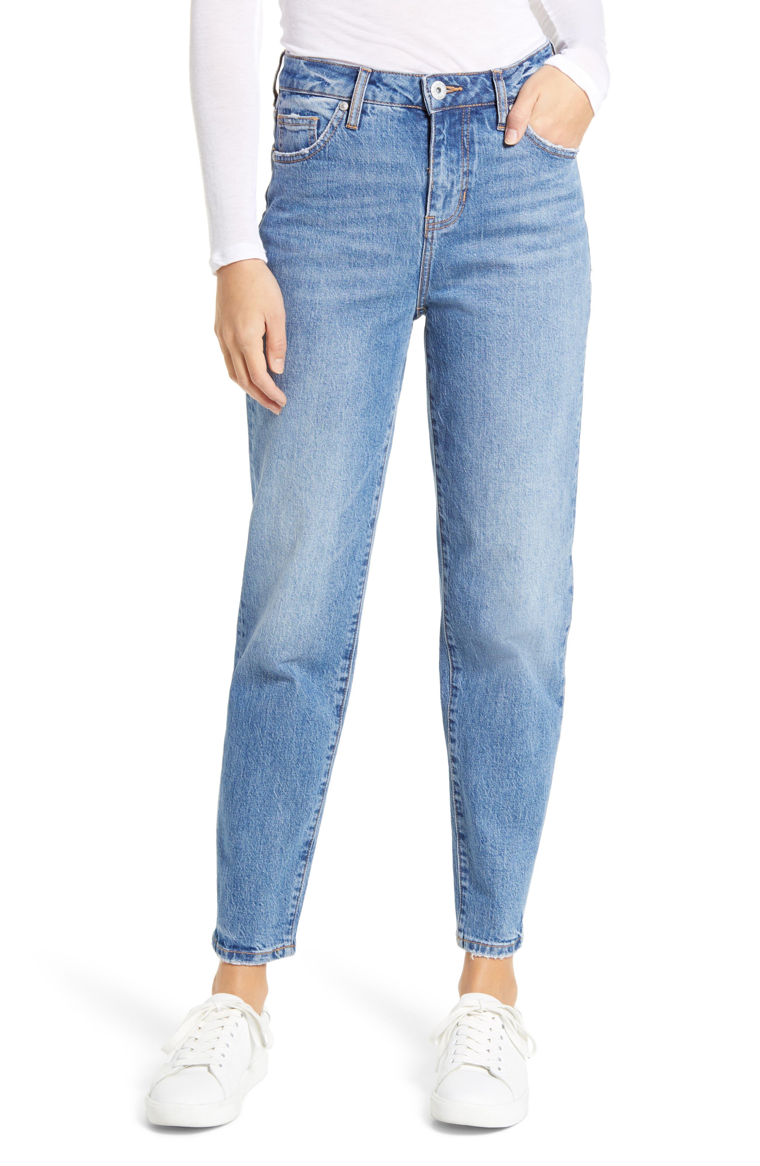 Luna Vintage Tapered Mom Jeans