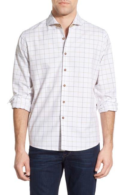 Image of Singer + Sargent Regular Fit Grid Sport Shirt
