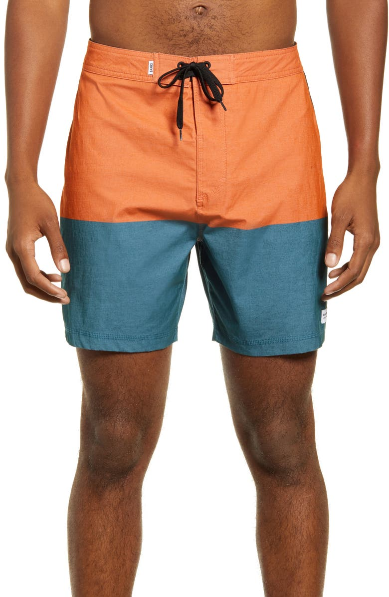 BANKS JOURNAL Tone Board Shorts, Main, color, 800