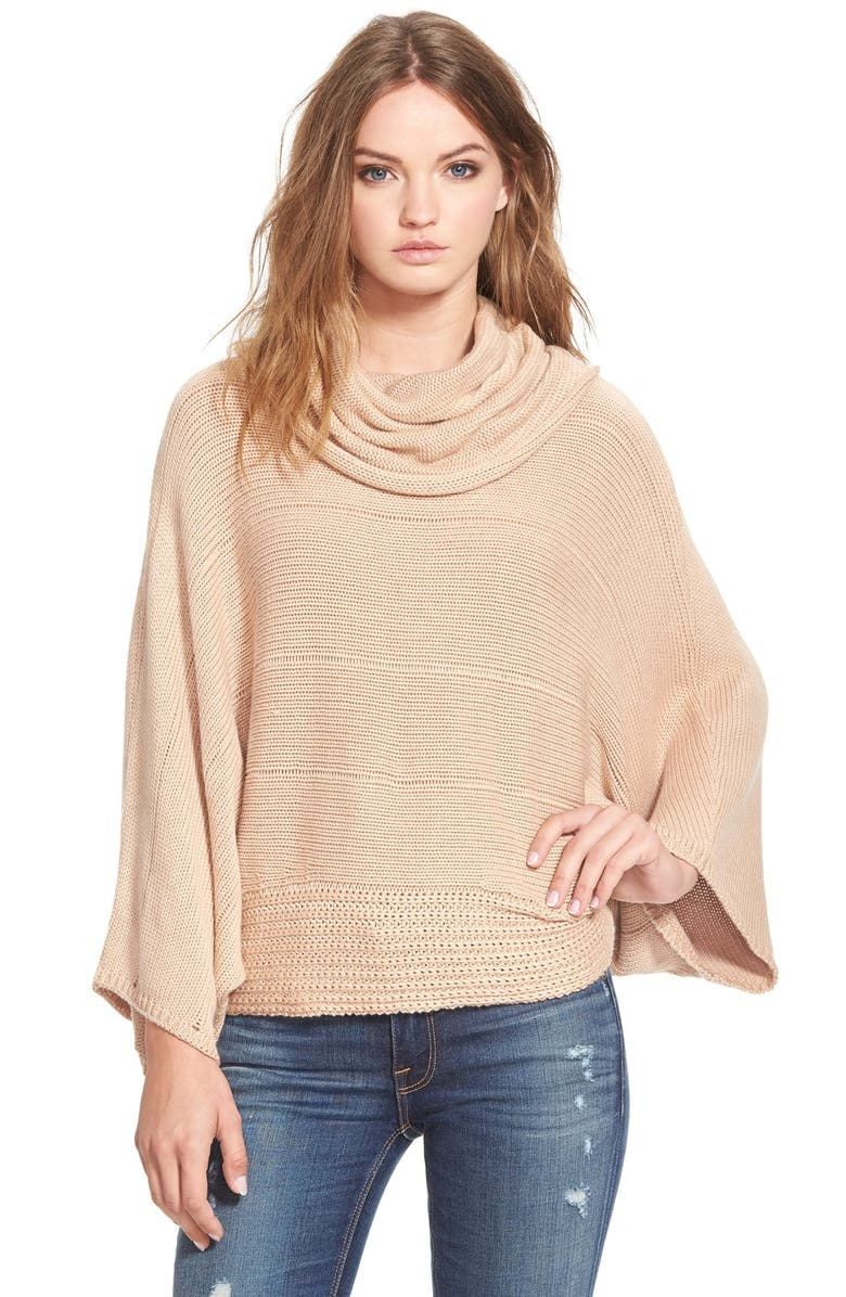 ELLA MOSS 'Lya' Cowl Neck Sweater, Main, color, 200