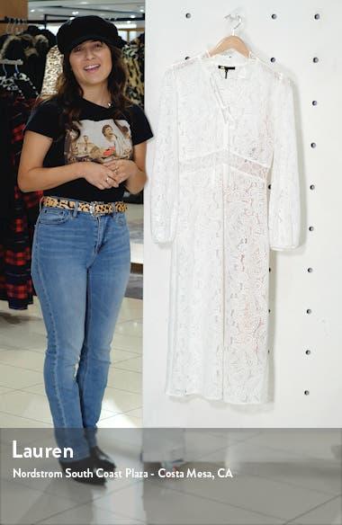 Rilie Lace Long Sleeve Midi Dress, sales video thumbnail