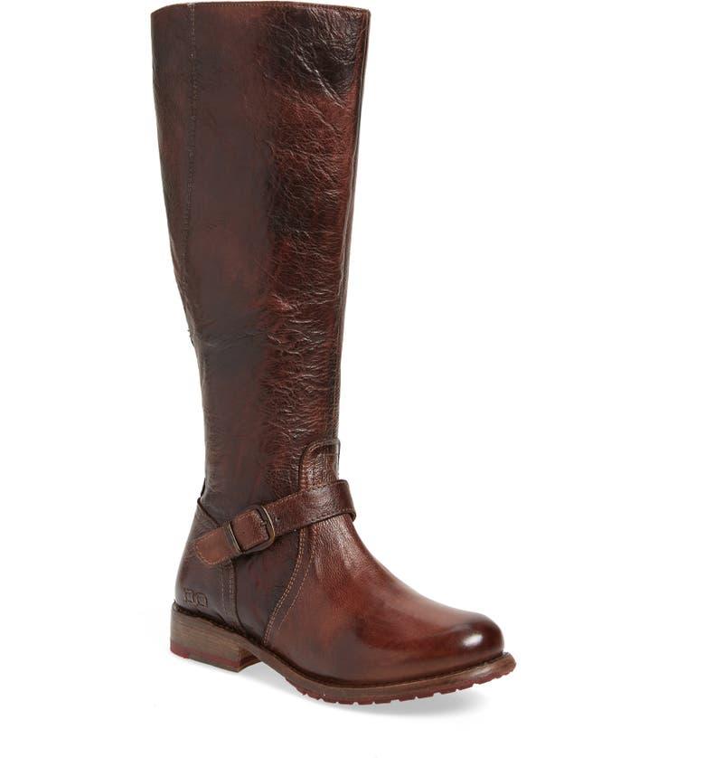 BED STU 'Glaye' Tall Boot, Main, color, TEAK RUSTIC