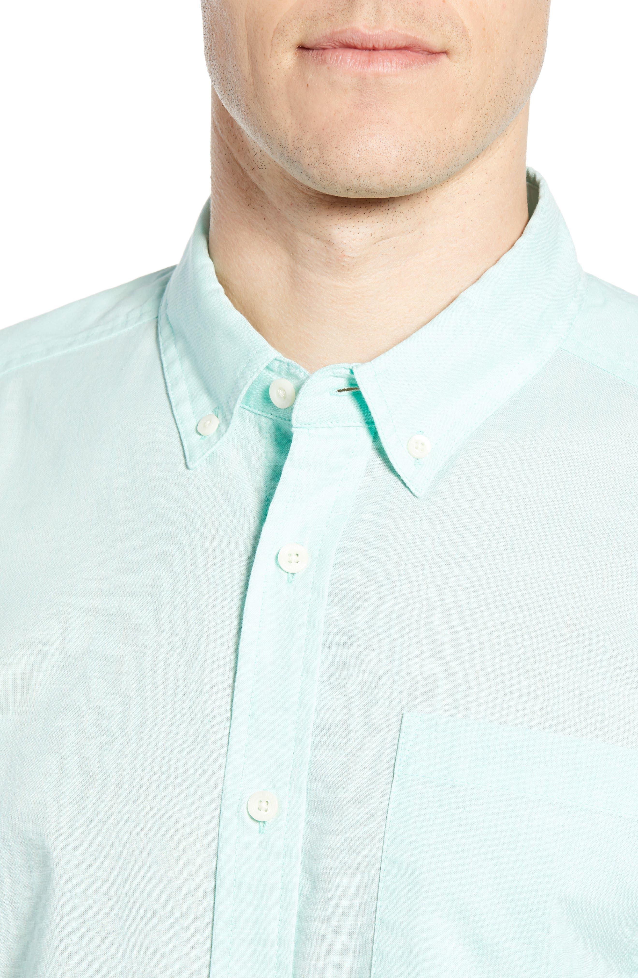 ,                             Bluffside Regular Fit Shirt,                             Alternate thumbnail 2, color,                             CHAMBRAY VJOSA GREEN