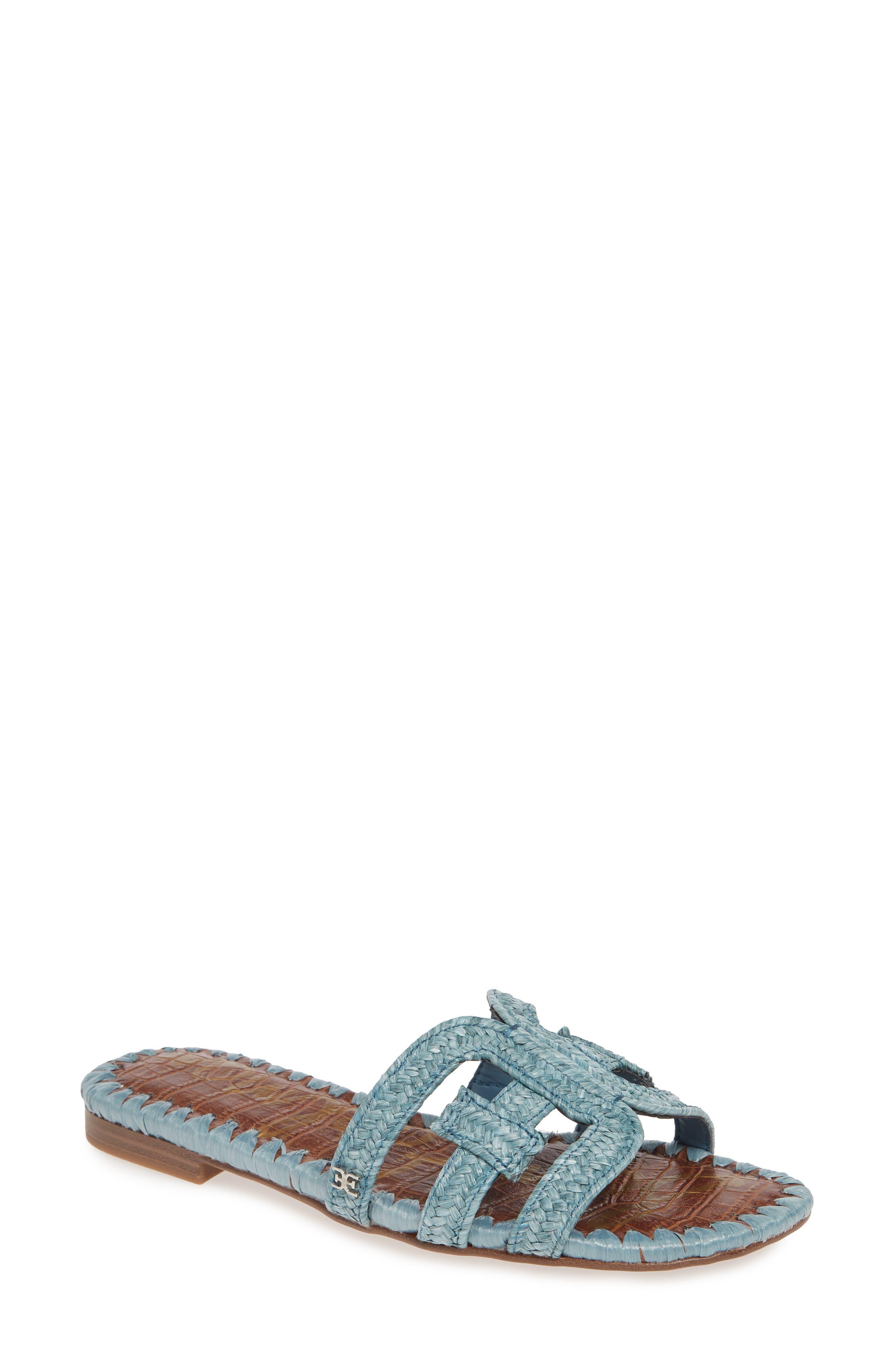 Sam Edelman Beckie Slide Sandal, Blue