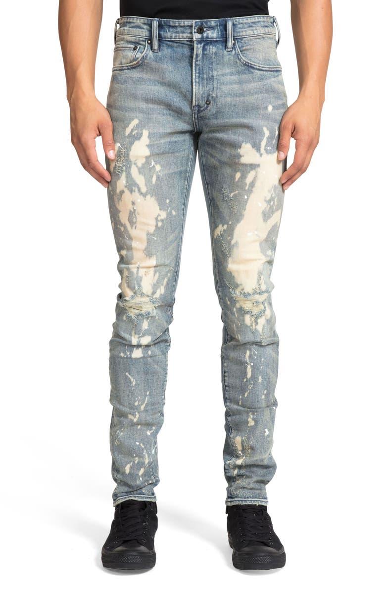 PRPS Windsor Distressed Extra Slim Fit Jeans, Main, color, 457
