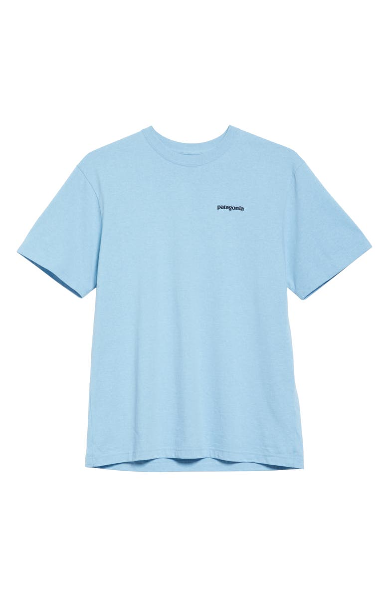 PATAGONIA P-6 Responsibili-Tee Logo Graphic T-Shirt, Main, color, 400